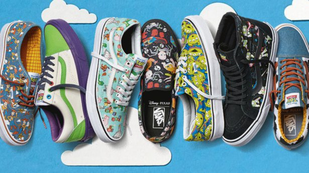 vans chile toy story