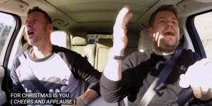 Mira Adele, Chris Martin y Red Hot Chilli Peppers en el mejor Carpool Karaoke de todos