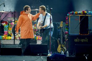 Liam Gallagher se reconcilió con Coldplay