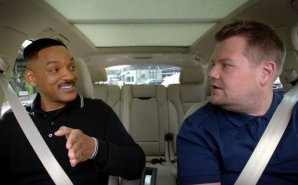Will Smith canta, rapea y baila en el renovado Carpool Karaoke