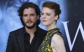 El parte de matrimonio de Kit Harington y Rose Leslie está inspirado en 'Game of Thrones'