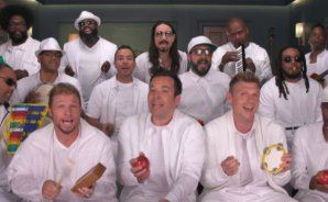 VIDEO | Backstreet Boys cantan 'I Want It That Way' con instrumentos para niños