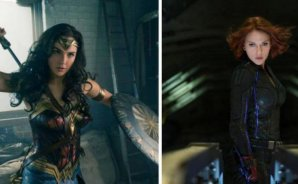 FOTOS | Scarlett Johansson es Wonder Woman y Gal Gadot es Black Widow