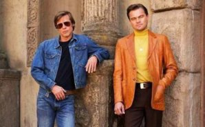 Leo DiCaprio y Brad Pitt se lucen en el poster oficial de 'Once upon a time in Hollywood'
